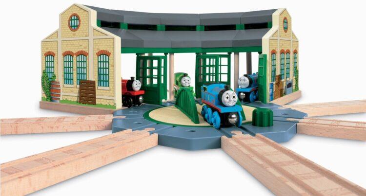 Trenino Thomas - Deposito di Tidmouth