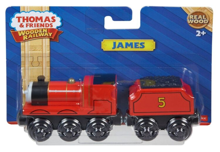 James – Il trenino Thomas