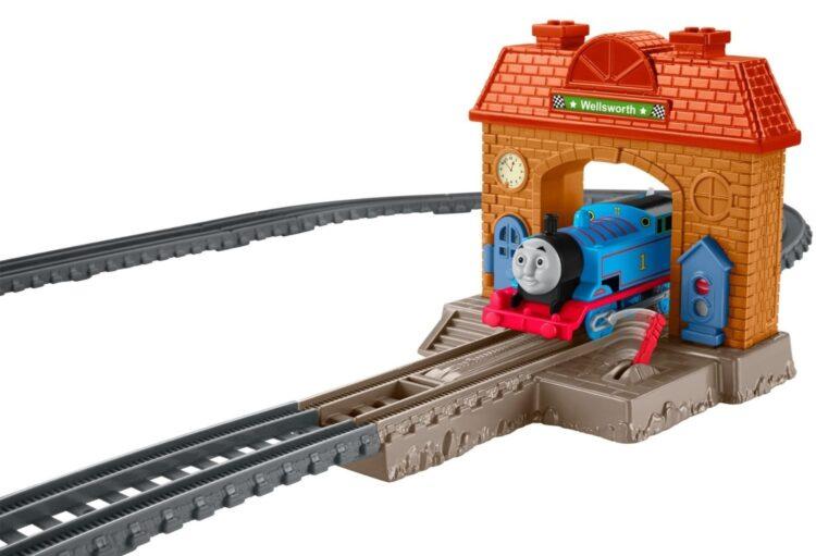 Trenino Thomas Track Master Set la Stazione di Wellsworth