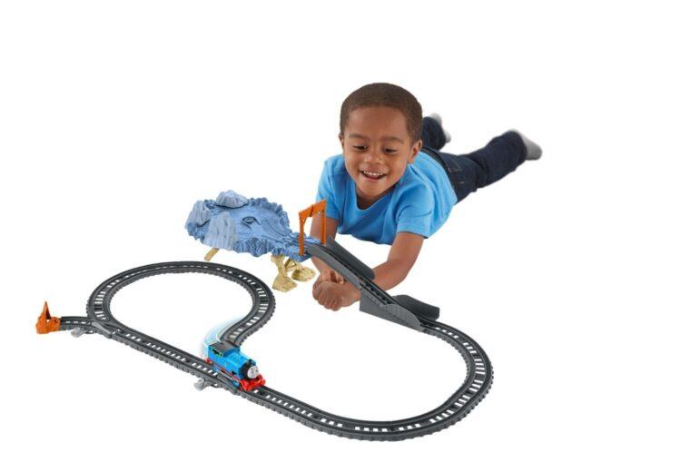 Trenino Thomas Track Master La Sfida Sella Scogliera