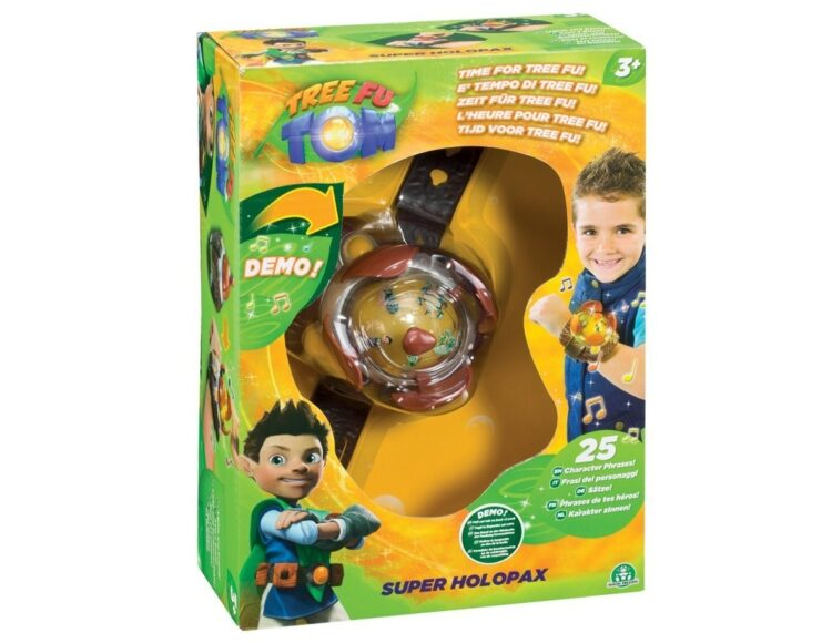 Tree Fu Tom Super Holopax con Luci