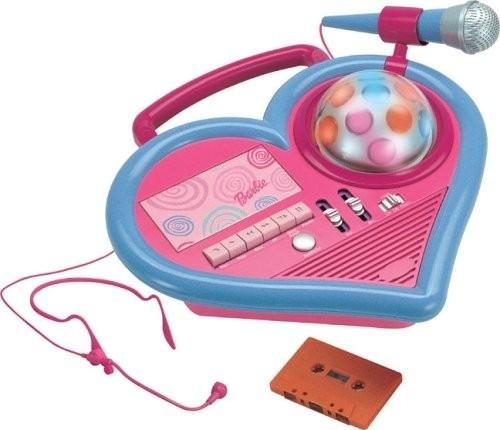 Dj Barbie Registratore Karaoke