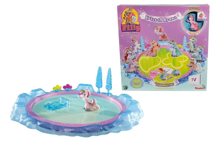 Filly Ice Unicorn Crystal Arena