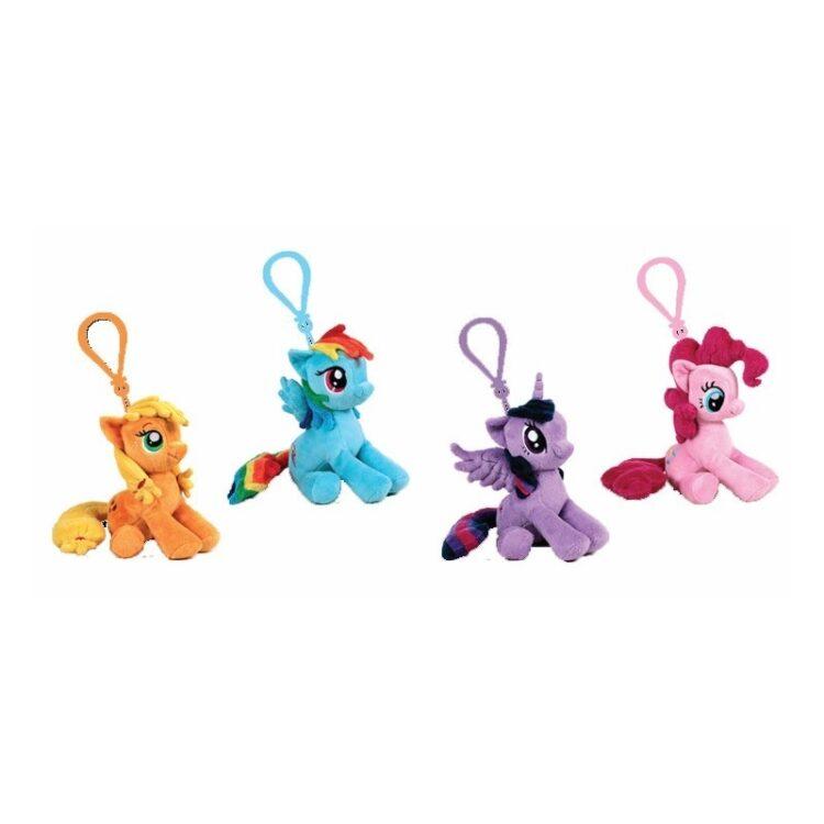 Set 24 portachiavi di My Little Pony.