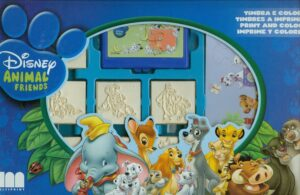 Set 7 timbri e colori Disney Animal Friends