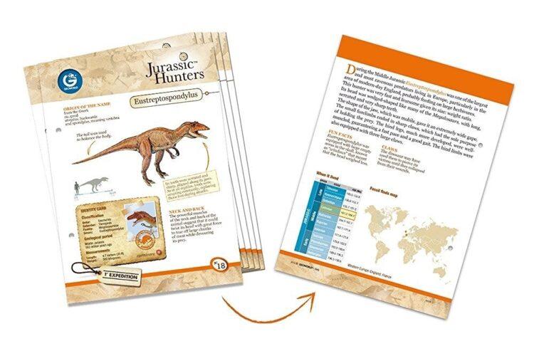 Jurassic Hunters Eustreptospondylus