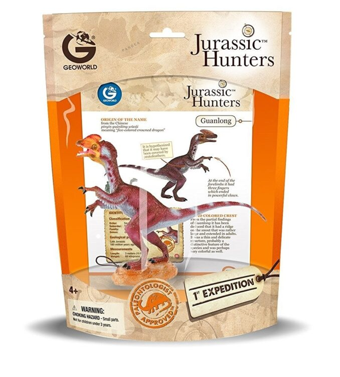 Jurassic Hunters Guanglong