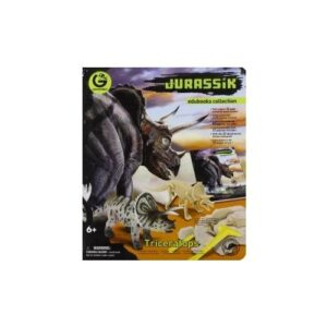 Jurassik Edubooks Collection. Triceratops