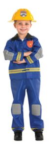 Costume bimbo Pompiere