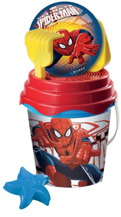 Spiderman Ultimate Set Secchiello con Palla