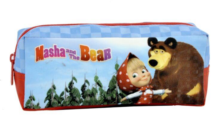 Astuccio portatutto Masha e Orso Happy