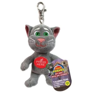 Portachiavi peluche Talking Tom il gatto