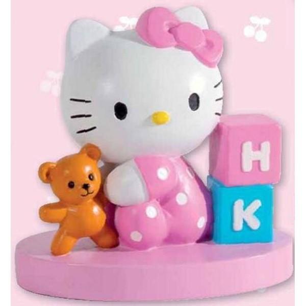 Decorazione torta 3D Hello Kitty Baby