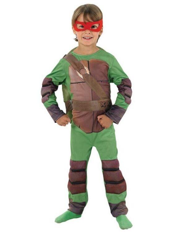 Costume bimbo Tartarughe Ninja-3-4 anni