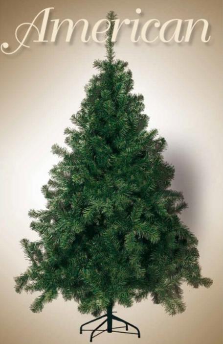 Albero Di Natale America 210 cm