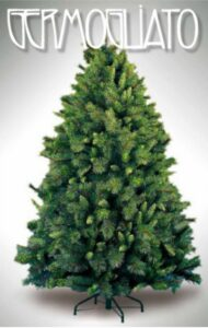 Albero Di Natale Germogliato 180 Cm
