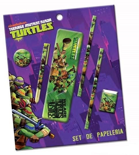 Set Cancelleria Tartarughe Ninja