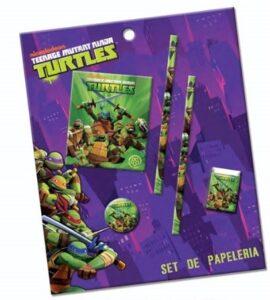 Mini Set Cancelleria Tartarughe Ninja