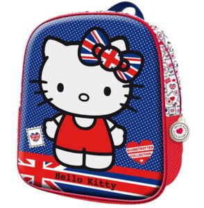 Zainetto Hello Kitty Union Jack 3D
