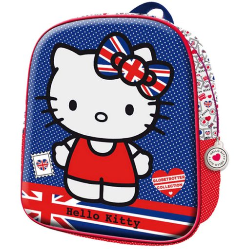 Zainetto Hello Kitty Union Jack 3D
