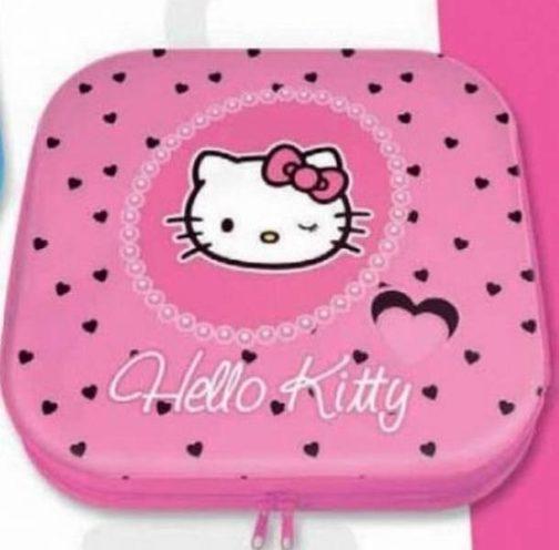 Porta cd in latta Hello Kitty