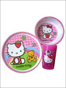 Set tavola Hello Kitty