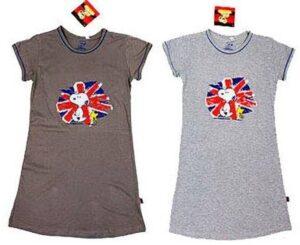Camicia da notte Snoopy Union Jack