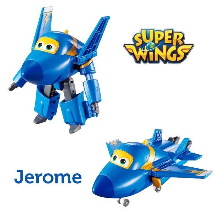Superwings personaggio trasformer 5 cm