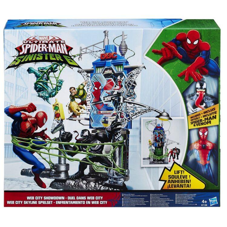 Web City Daily Bugle Battle Spiderman