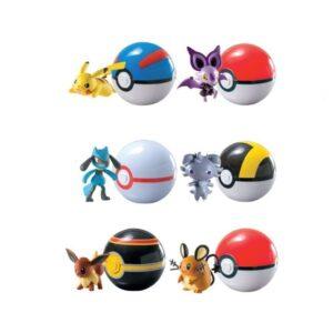 Set da 6 Pokemon e Pokeball