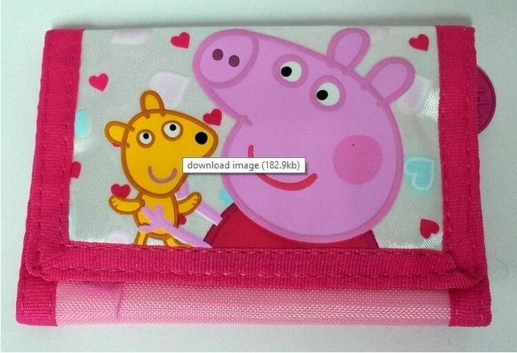 Portafogli Peppa Pig