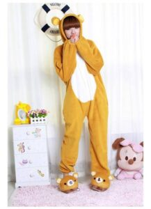 Kigurumi adulto pigiamone Rilakkuma Bear Large (166~174cm)