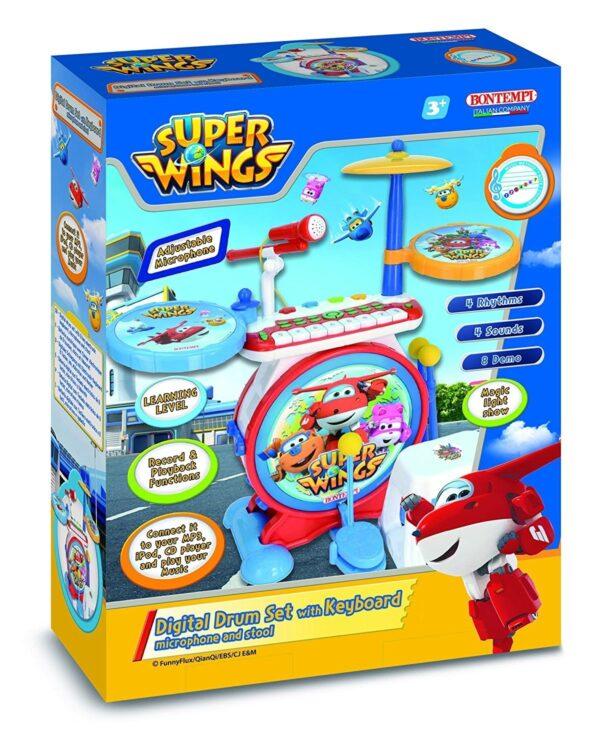 Bontempi - Batteria Elettronica Super Wings