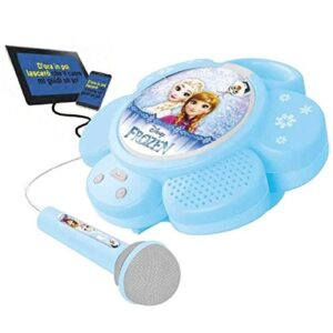 Disney Frozen karaoke portatile con microfono