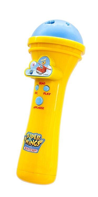 Microfono Karaoke Super Wings
