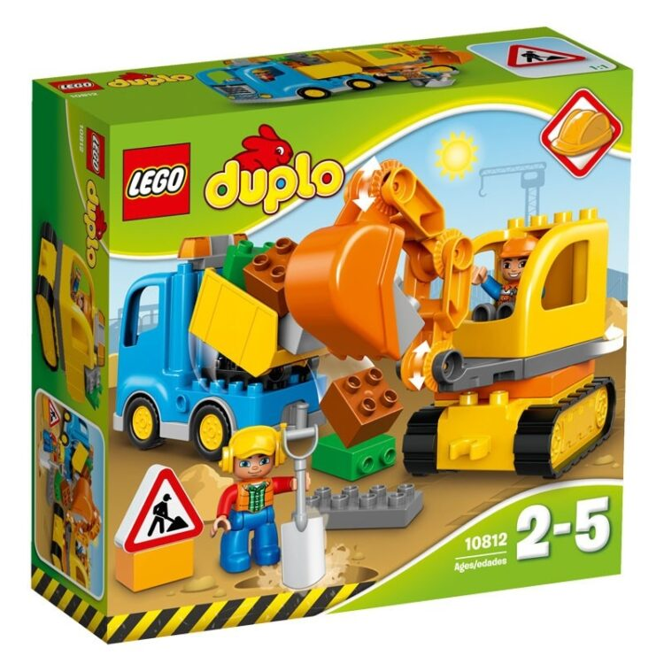 Camion e scavatrice cingolata Lego Duplo