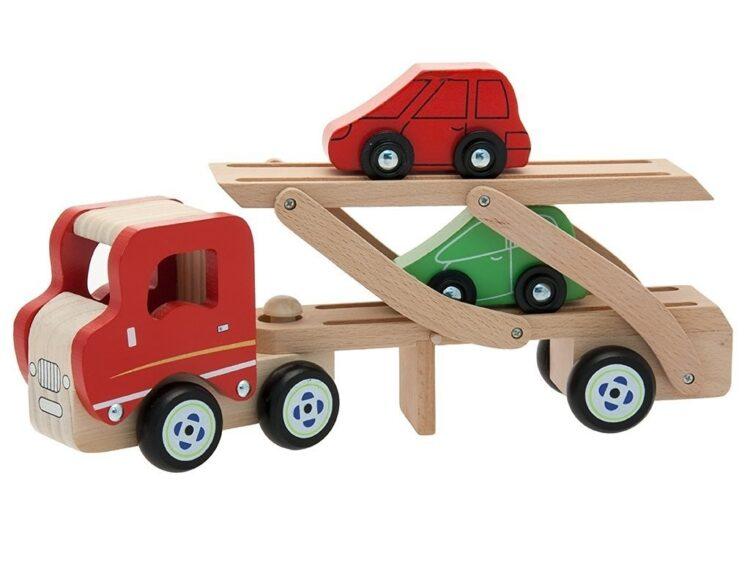Camion Trasporto Auto in Legno
