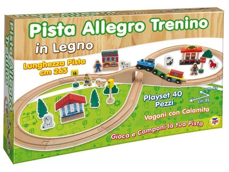 Pista Allegro Trenino in Legno