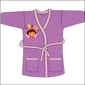 Vestaglietta in morbido pile Dora l'Esploratrice