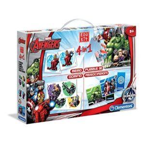 Edukit 4 in 1 Marvel Avengers