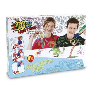 I Do 3D Gioco Vertical Deluxe Design Studio, Set con 8 Penne 3D ed Accessori