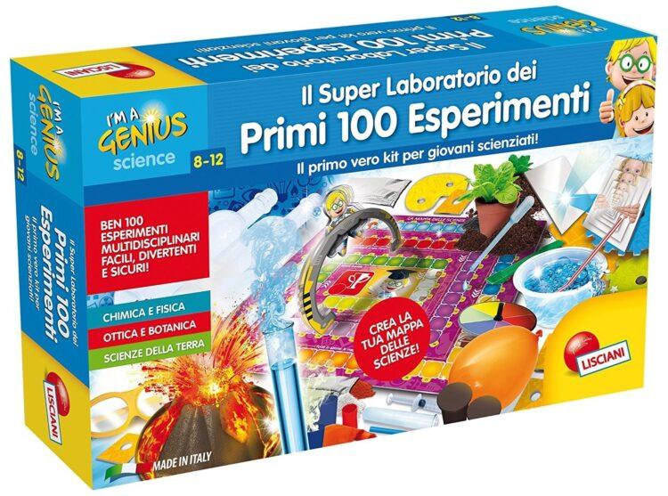 I'M a Genius il Super Laboratorio dei Primi 100 Esperimenti