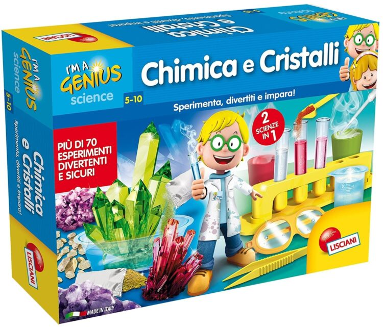 I'm a Genius Chimica e Cristalli