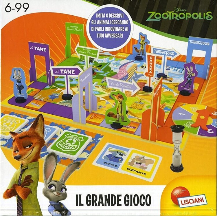 Zootropolis il Grande Gioco
