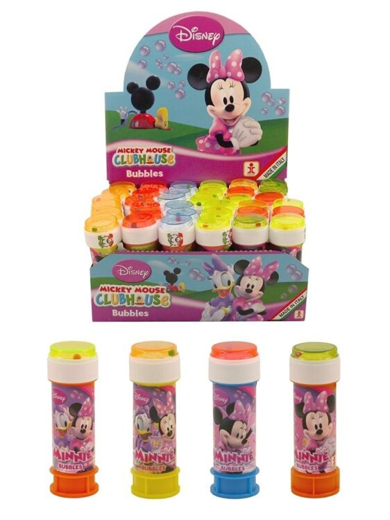 Confezione da 36 flaconcini di bolle di sapone Minnie