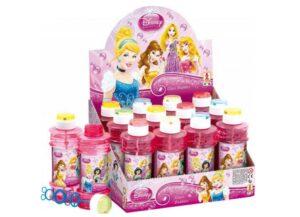 Espositore 12 flaconi di bolle di sapone delle Principesse Disney