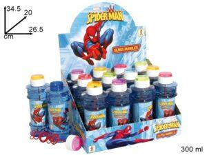 Set 12 flaconi Bolle di sapone Spiderman