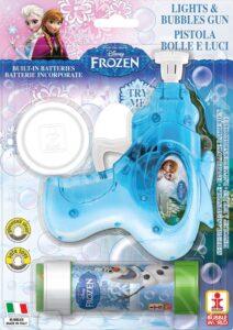 Disney Frozen Pistola Spara Bolle di Sapone
