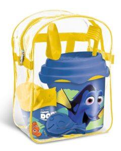 Secchiello completo Alla ricerca di Dory in borsa trasparente