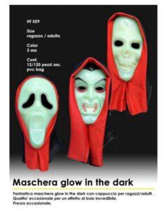 Maschera glow in the dark